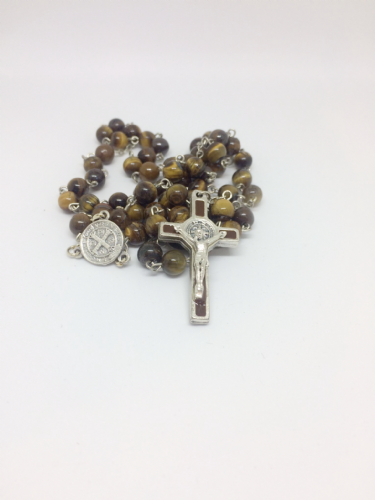 Tiger Eye Standard Rosary